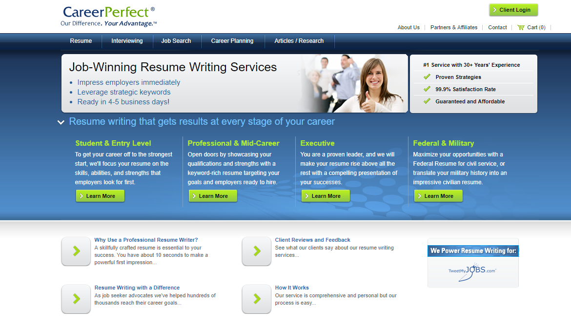careerperfect.com Review by TopResumeWritingServices