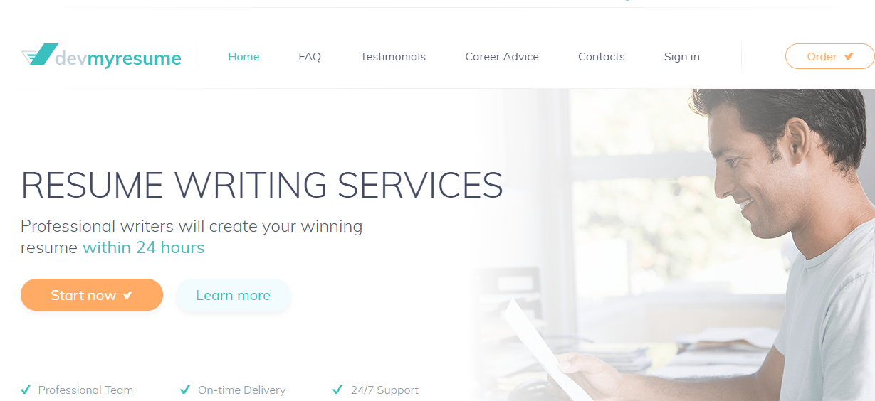 devmyresume.com Review by TopResumeWritingServices