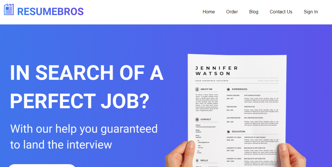 resumebros.com Review by TopResumeWritingServices