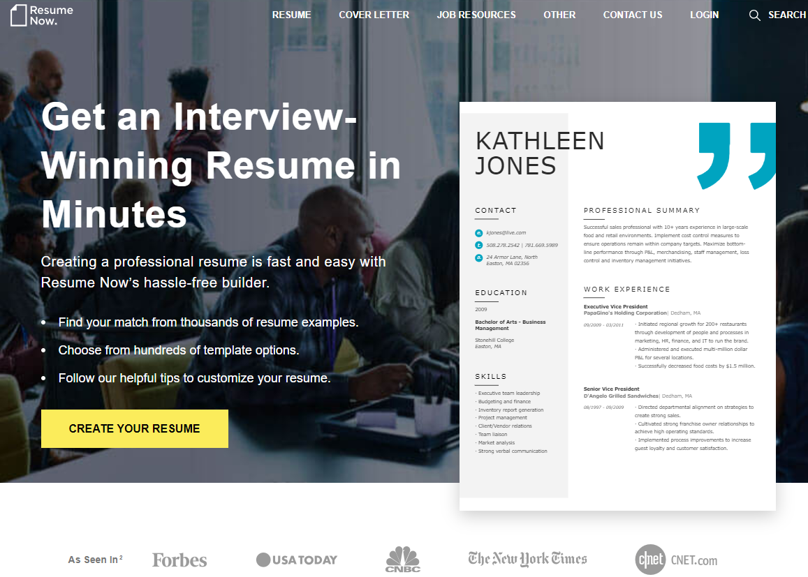 resume-now.com Review by TopResumeWritingServices