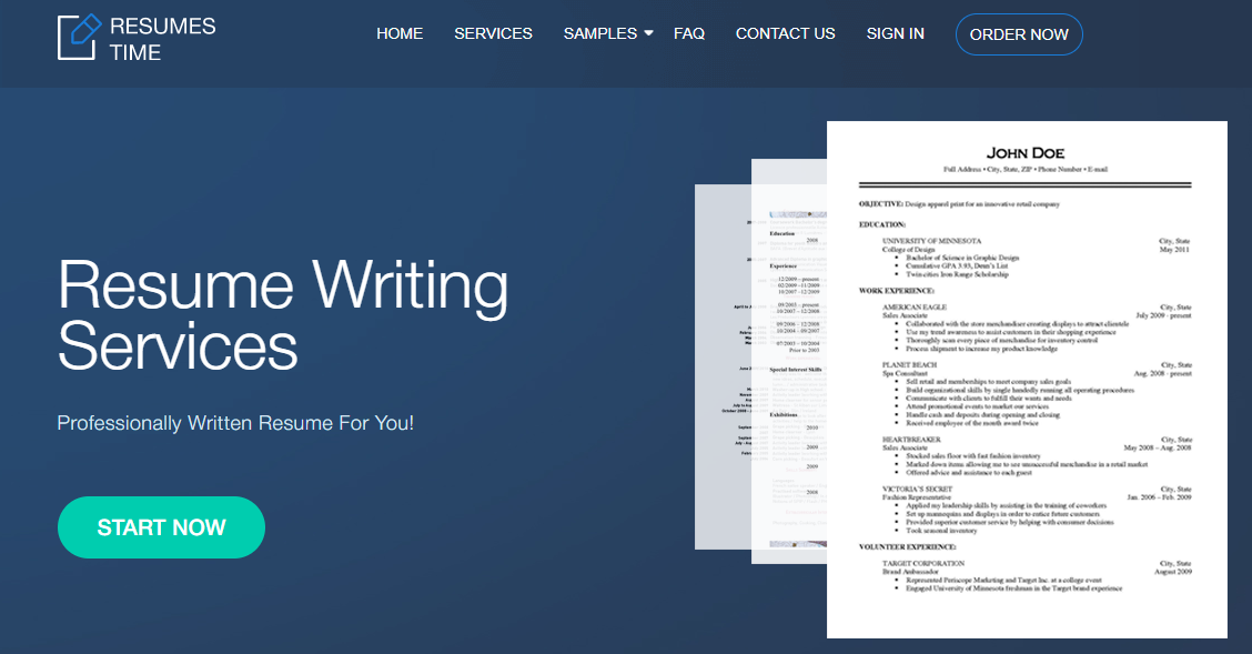 resumestime.com Review by TopResumeWritingServices