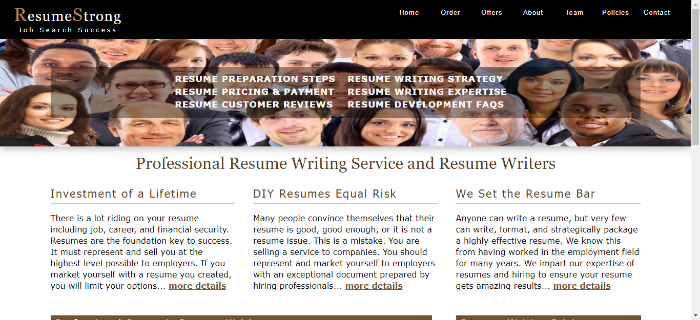 resumestrong.com Review by TopResumeWritingServices