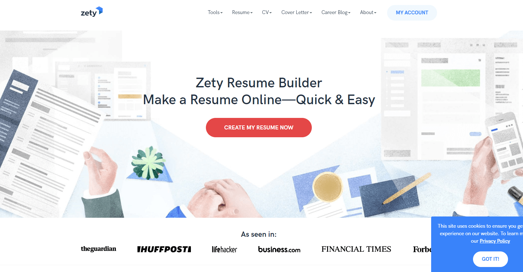 zety.com Review by TopResumeWritingServices