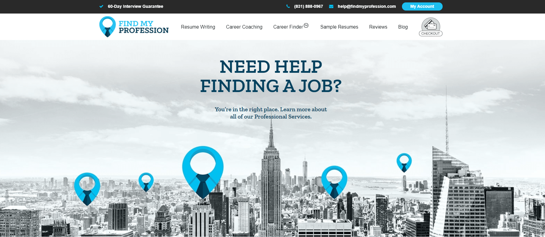 findmyprofession.com Review by TopResumeWritingServices